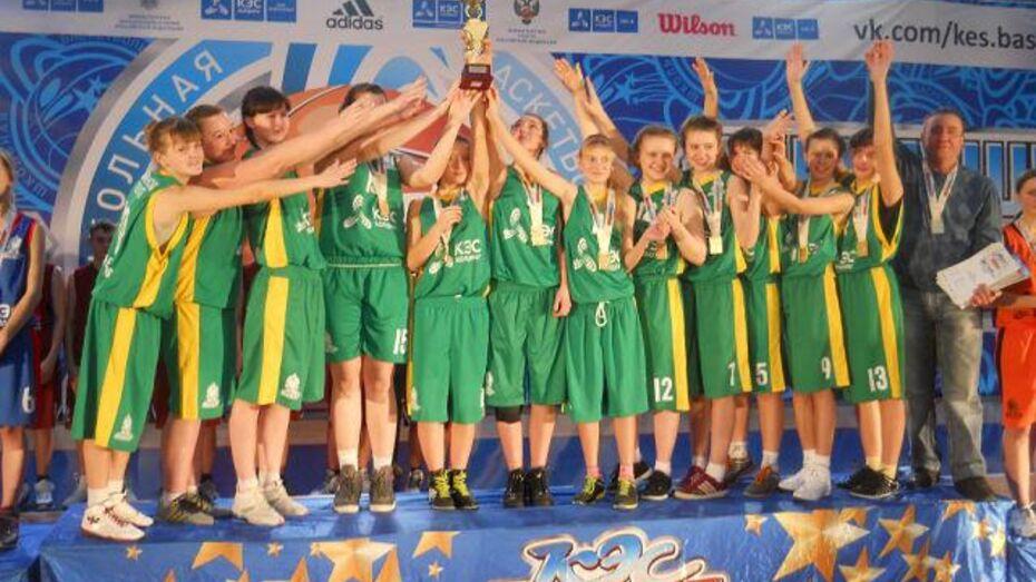 Эртильские баскетболистки выиграли путевку в финал чемпионата ЦФО