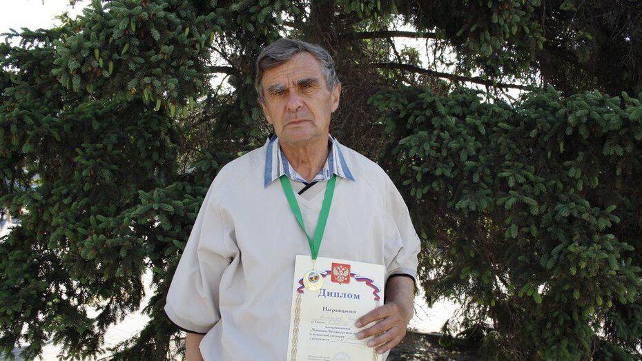 Аннинский ветеран стал чемпионом Москвы по легкой атлетике