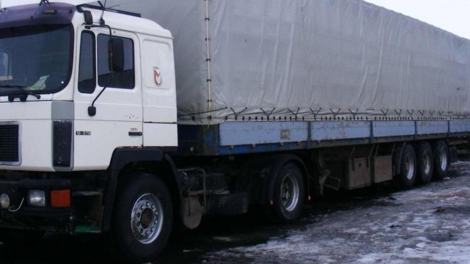 В Санкт-Петербурге у воронежца угнали полуприцеп с 20 т пищевых добавок