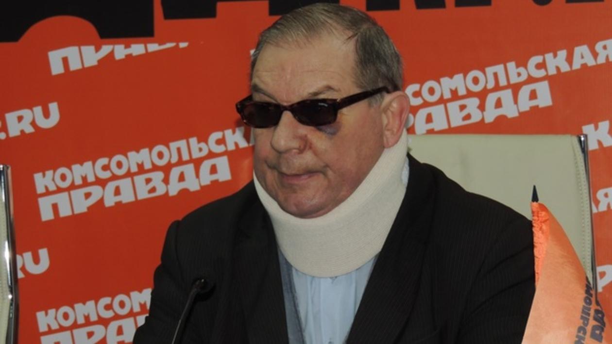 Пострадавшие под Новохоперском геологи продемонстрировали  журналистам  «боевые раны»