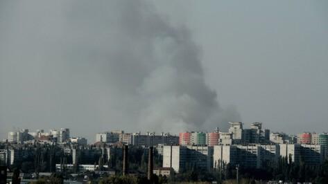 Воронежские спасатели ликвидировали ландшафтный пожар в Подгорном