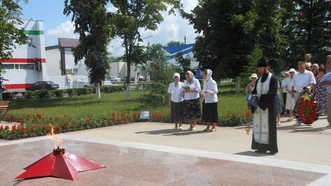 Подгоренцы возложили цветы к воинскому мемориалу в День памяти и скорби