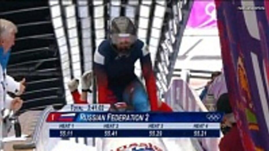 Бобслейная четверка, в состав которой вошел воронежский спортсмен, заняла 4 место на Олимпиаде