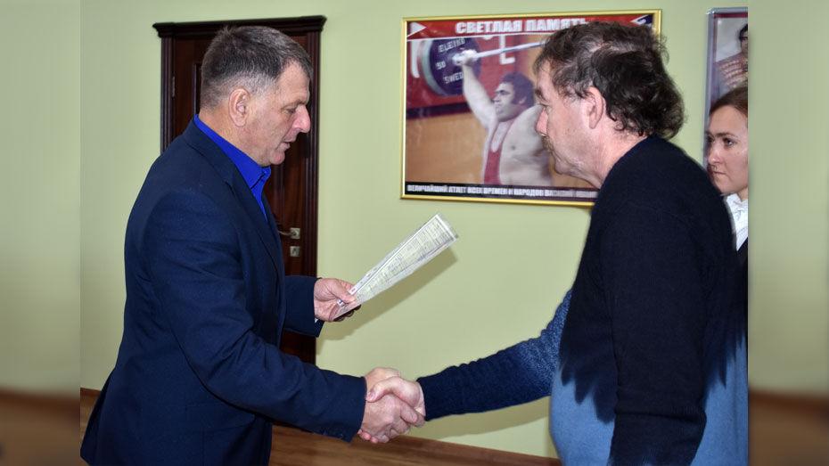 В Калаче участник ликвидации аварии на Чернобыльской АЭС получил сертификат на жилье
