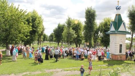 Жители хохольского села отметили престольный праздник