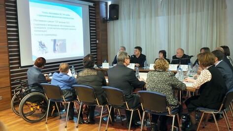 Воронежский облдепартамент соцзащиты делегирует заботу об инвалидах Фонду соцстрахования