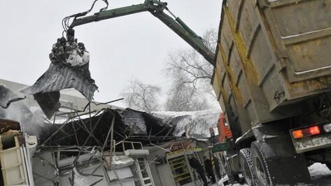 В Воронеже 30 торговых киосков снесут в апреле