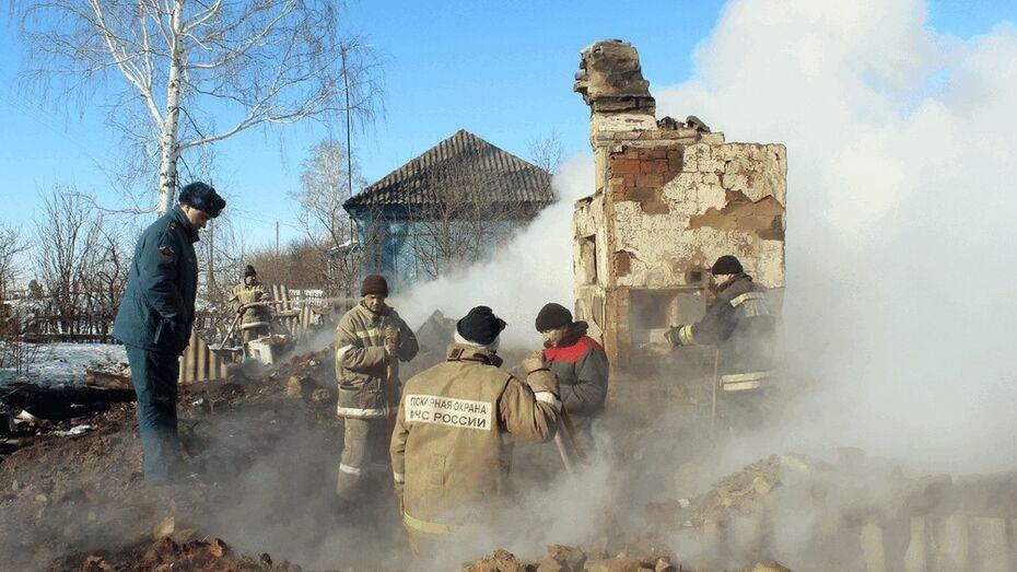В Таловском районе пожар унес жизнь человека
