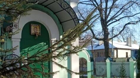 Воронежский храм открыл двери для прихожан после карантина
