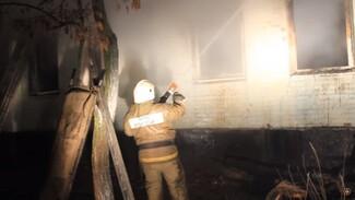 В сети появилось видео пожара в воронежском психоневрологическом интернате