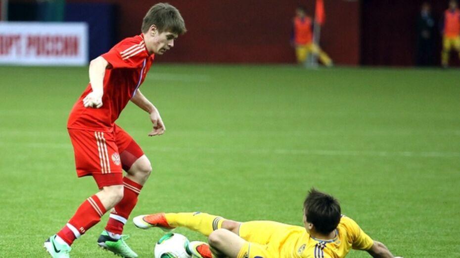 Футболиста воронежского «Факела» Альберта Шарипова снова вызвали в молодежную сборную страны