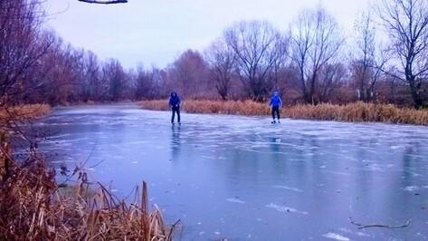 В Бутурлиновке открыли сезон катания на коньках