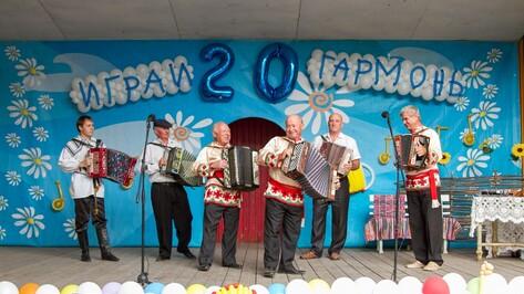 В Острогожске прошел двадцатый районный фестиваль народной музыки
