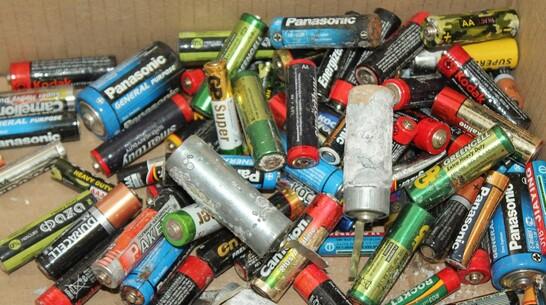 Жителей Хохольского района попросили сдать использованные батарейки