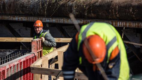 Монтаж 13 балок распланировали на виадуке у «Работницы» в Воронеже