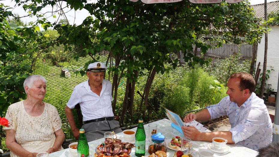 Супруги Забудько из Богучарского района рассказали о секретах счастливого брака