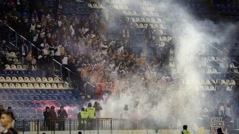 Полиция задержала 9 фанатов воронежского «Факела» на матче с «Мордовией»