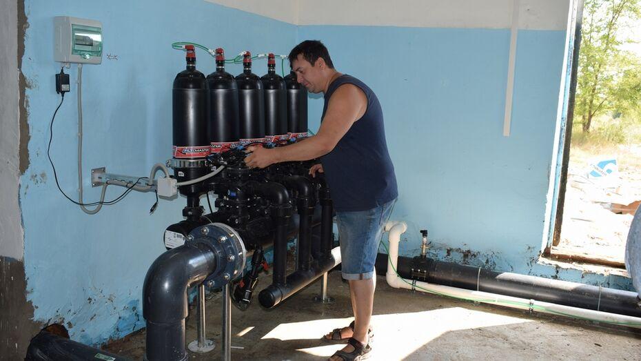 В Борисоглебске в тестовом режиме запустили станцию доочистки воды