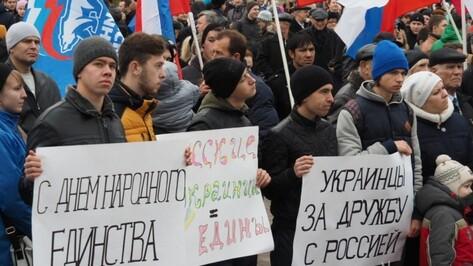 Воронежские власти подготовили более 70 акций ко Дню народного единства