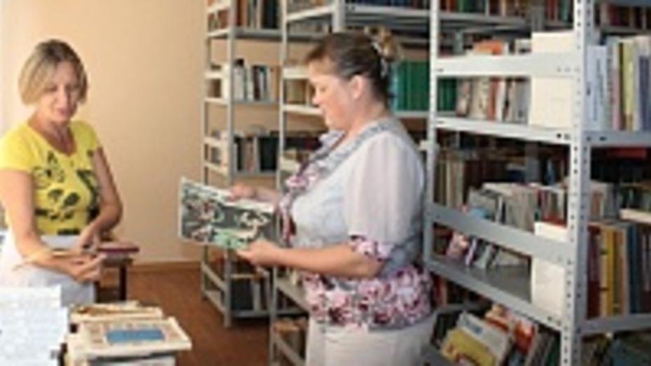 В сельских библиотеках Хохольского района скоро появятся электронные книги