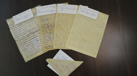 Фронтовые письма и раритетное пианино передали в краеведческий музей Павловска
