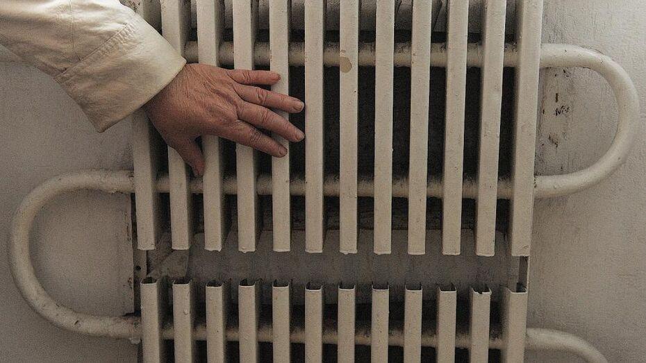 Из-за утечек остаются без тепла детсад, школа и поликлиника в Воронеже