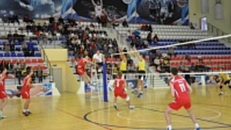 В Павловске впервые прошел межрегиональный турнир по волейболу