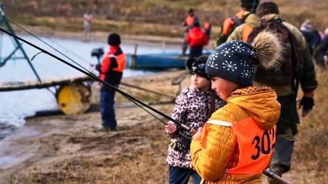 В Грибановском районе прошли соревнования по рыбной ловле