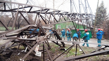 В 3 районах Воронежа восстановили электроснабжение