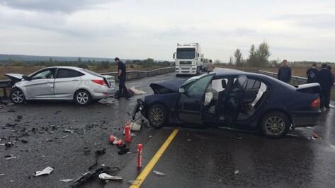 Один человек погиб и четверо пострадали в ДТП на воронежском участке М4 «Дон»