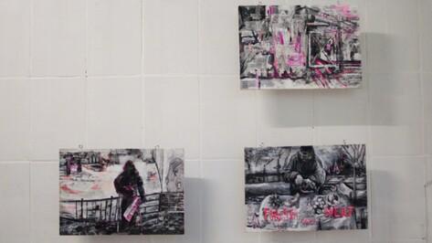 Московские художники показали в Воронеже фотографии городских «подозреваемых»