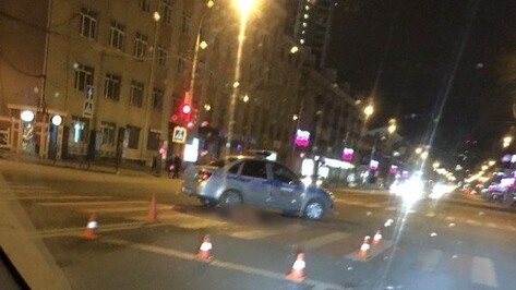 Воронежец погиб под колесами Mitsubishi на улице Плехановской