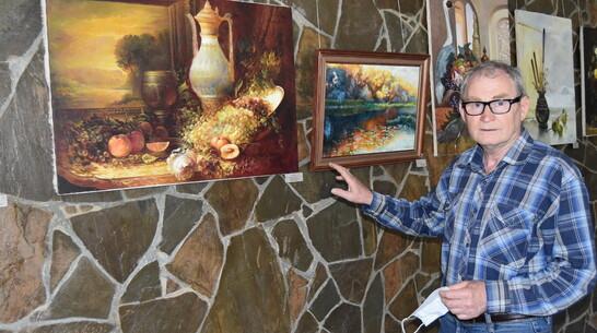 Поворинцев пригласили на выставку живописи художника-земляка Николая Жатова