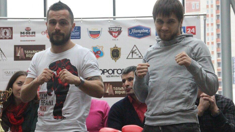 Итальянский боец объявил «войну» воронежскому сопернику перед турниром «Битва за Воронеж»