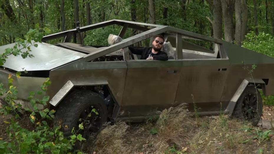 Копию электромобиля Илона Маска испытали в Воронежской области