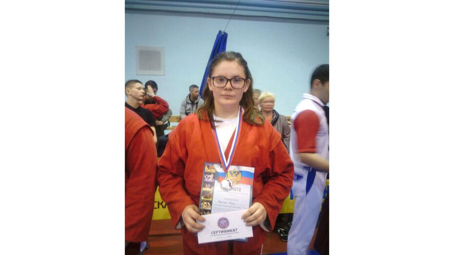 Таловская самбистка стала серебряным призером международного турнира