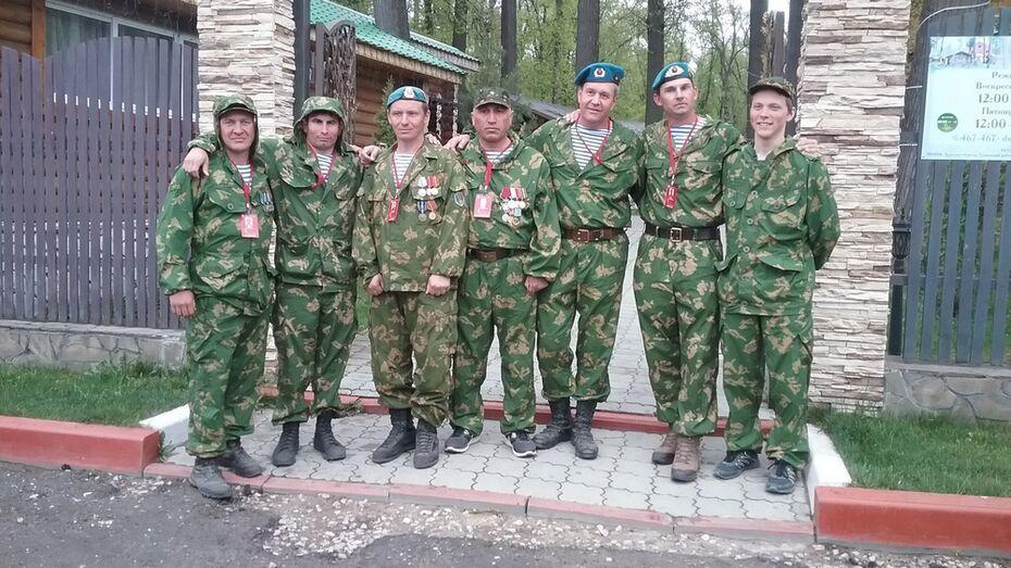 Борисоглебский десантник прошел 400 км в честь Дня Победы