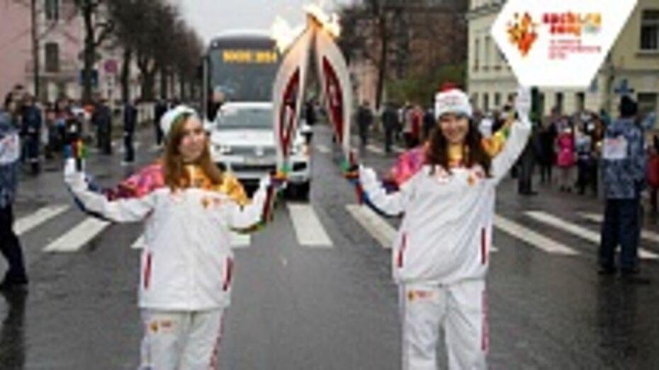 Уроженка Грибановки пронесла Олимпийский огонь о Великому Новгороду