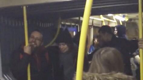 В Воронеже пассажиры автобуса исполнили песню группы «Сплин»