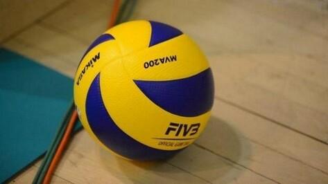 Воронежский волейбольный клуб проиграл «Торпедо»