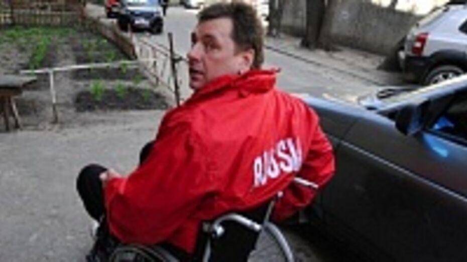 Спортсмен-колясочник из Воронежа Игорь Рогов завоевал «серебро»