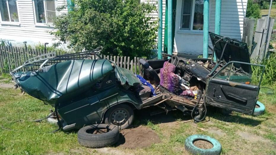 В Воронежской области после ДТП с трактором госпитализировали двух девочек 3 и 7 лет