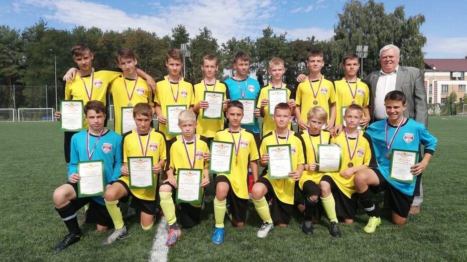 Борисоглебская футбольная команда «Ювенал» выиграла «бронзу» на Областной спартакиаде