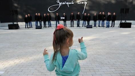 Воронежский Зеленый театр включат в программу летнего отдыха детей