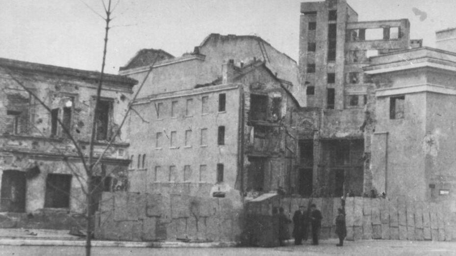 В Никитинской библиотеке откроется выставка, посвященная восстановлению Воронежа