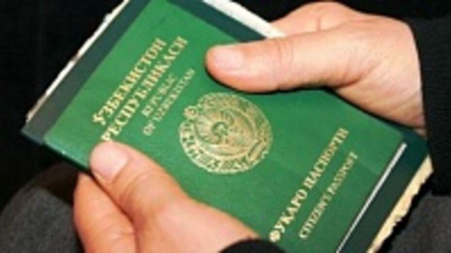 На минувшей неделе из Воронежской области выслали 14 иностранцев