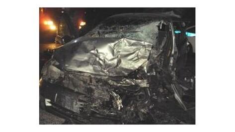 Неизвестный водитель «Калины» разбился в ДТП с 3 машинами под Воронежем