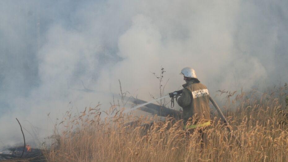 Спасатели назвали причину пожара в Железнодорожном районе Воронежа
