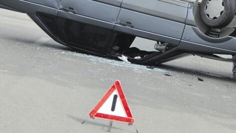 За четыре месяца в Воронежской области в авариях погибли 140 человек, 1137 получили ранения