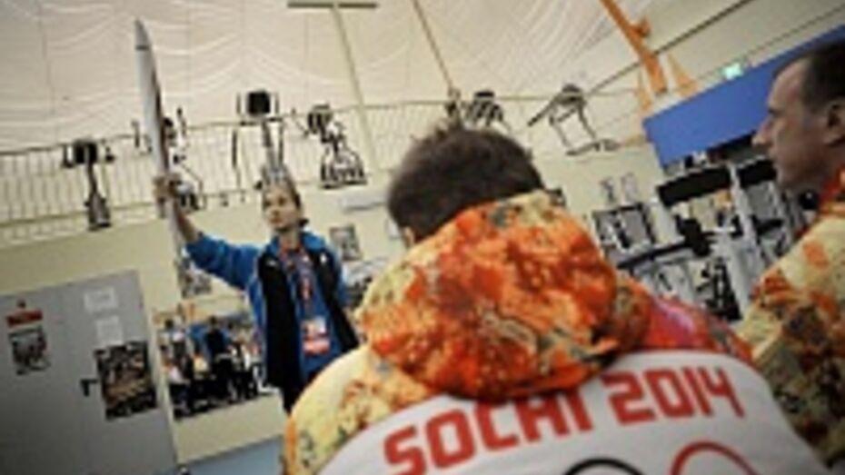 Воронежские паралимпийцы первыми в городе получили комплекты формы факелоносцев